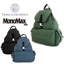 トランスコンチネンツ TRANS CONTINENTS リュック TC-16403 【 リュックサック デイパック バックパック メンズ 】