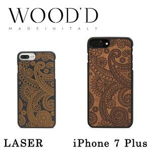 スマホケース Wood'd iPhone8Plus iPhone7Plus iPhone