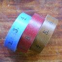 倉敷意匠計画室/【井上陽子さん】マスキングテープ/数字(15mm)3本セットNo.45202-02