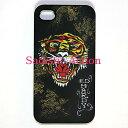 ショッピングiphone4 【即納】Ed Hardy iPhone4/4S TIGER with DRAGON BK 【Ed Hardy】【EDH-IC-EH1041-BK】