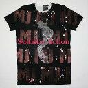 ショッピング即納 【即納】iconic couture×Sadistic Action×Michael Jackson Men's T BK/PI 【iconic couture】【ICO-TP-MJD-BK/PI/CL-M】