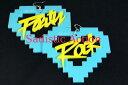 ショッピングLOW 【即納】Party Rock LA LA LA Earrings 【Party Rock Clothing】【PR-AC-Party Rock LA LA LA Earrings-AQ/YE】