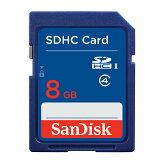 【DM便送料無料】【並行輸入品】 サンディスク(SanDisk) スタンダード SDHCカード 【8GB】 SDSDB-008G-B35 クラス4