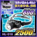 LEDヘッドライト led ヘッドランプ 登山 防水 【HL-018】