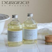 「デュランスソランドリーソープ500ml」【Duranceフランス洗剤香りプロバンスジャスミンティヨールラベンダーローズコットンフラワー】