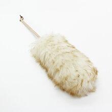 「レデッカー(REDECKER)ラムウールダスターロング70cm(羊毛)」【レデッカー羊毛もふもふニュージーランドダスター羊毛ダスターほこり取りおしゃれはたき北欧】