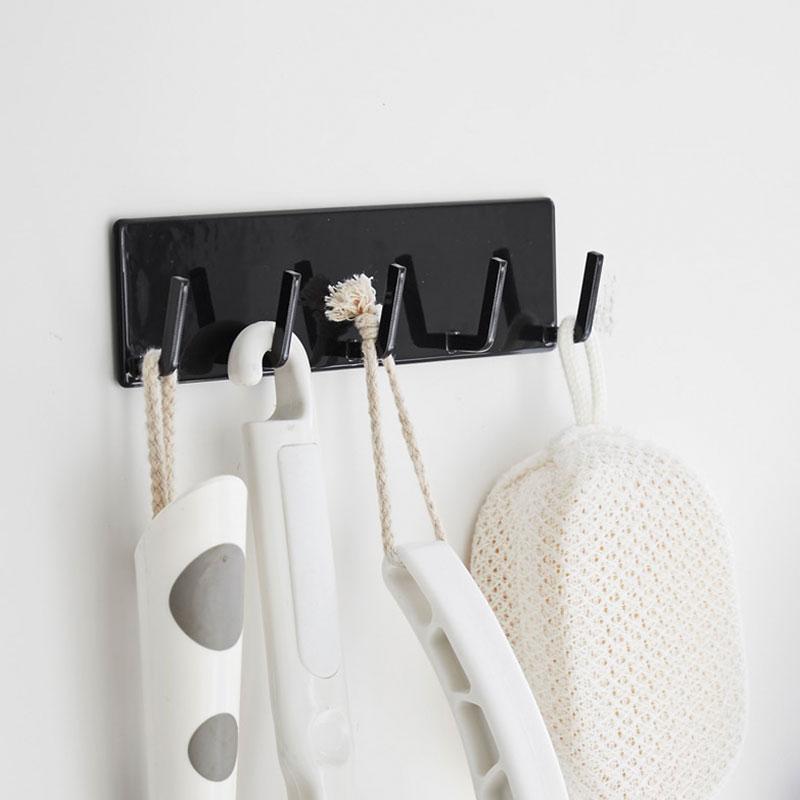 RoomClip商品情報 - 【LINEでクーポン】 「マグネットバスルームフック タワー」【洗面器 フック マグネットフック 5連 マグネット フック かわいい おしゃれ マグネット キッチン 収納 お風呂 冷蔵庫 かわいい 浴室 フック 超強力】