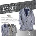 ショッピングラーメン 7分袖 JKT ジャケット イタリアンカラー 襟ワイヤー入り 大人カジュアル 上品 メンズ B300329-08