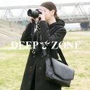ショルダーバッグ カメラバッグ メンズ レディース ユニセックス 本革 レザー レザー シュリンクレザー Deep Zone