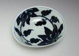 【鉢 サラダボウル 煮物鉢 盛鉢 染付 有田焼 花絵中鉢