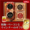 お歳暮 ギフト ハム 肉 【国産 品質 安全】焼豚 ベーコン ウインナー セット 37faプレゼント...