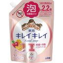 キレイキレイ 薬用泡ハンドソープ フルーツミックスの香り つめかえ用大型サイズ 450ml