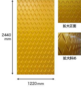 壁面パネル [NGPF010B] FRP製 500×464×29mm ゴルパ