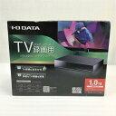 【中古品・未開封】 アイ・オー・データ AVHD-UT1.0 USB 3.0/2.0対応 TV録画用ハードディスク ブラック 1TB 10009497