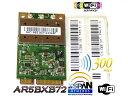 Atheros AR5BXB72/AR5008 【AR5418チップセット】 802.11a/b/g/n MINI PCI-E 最大300Mbpsリンク 無線L...