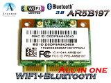 Lenovo純正+汎用 Atheros AR5B197 802.11b/g/n WIFI AR9287 +Bluetooth 3.0 AR3011 all in one無線LANカ