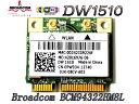 DELL+汎用 Dell Wireless 1510 内蔵ワイヤレスLAN Half-Miniカード (802.11a/b/g/n対応)