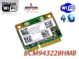 BCM943228HMB (Intel 6235性能同等品)無線LANカード  FRU:04W3763 Edge E130,E135,T430u,X131e Edge E430,E435,E530,E