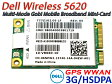 Dell Wireless 5620 3G/HSPDA/WWAN Mobile Broadband PCI-E Mini-Card  (Qualcomm Gobi 2000) 06NPW2