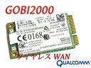 SONY VAIO Xシリーズ Zシリーズ ワイヤレスWANモジュール Qualcomm Gobi 2000 1-458-165-12