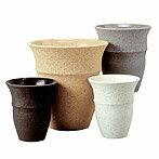 店長これお気に入りです(^-)-☆鉢カバー 陶器 ・スピカS-2 8号鉢用【観葉植物】【リビング】【モダン】