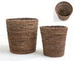 [工程] [免费包装,免费礼品卡] [指定的交货日期和容易吉夫] [音乐] Gifumesse型藤锅盖比标准的陶瓷材料,但负担得起的地址簿自然(棕色)1[スタンダードだけどナチュラル素材陶器よりずっとお求めやすい籐製鉢カバー