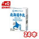 雪印メグミルク 北海道牛乳LL200ml 24本 送料無料