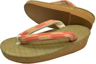 Sandals of cork (cork) made with light dress