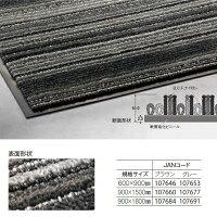 �ڲ����ѥޥåȡۥ��å��ʥ��ȥ饤�����ͤ��������ޥåȡ������Х�饤���900×1800mm��(���?�����б���)(�ƥ���MR-054-040)[���ե����ӥ뾦�Ȼ���Ź�ع�����]��¡�