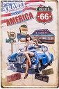 ブリキ看板 レトロ アンティーク プレート アメリカ雑貨 ガレージ / AMERICA Z303