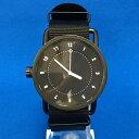 【中古】TID メンズ腕時計 SS ブラック文字盤 [jggW]