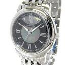 【中古】【新品同様】Tiffany&Co. マーク メンズ腕時計 クオーツ SS 文字盤ブラックシェル Z0046.17.10