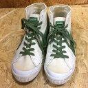 PUMA プーマ メンズ ハイカット スニーカー ホワイト×グリーン 表記サイズ:27.5cm【中古】[iz][jggS]