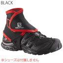 ◎サロモン L38002100・TRAIL GAITERS HIGH/トレイルゲイター ハイ(BLACK)