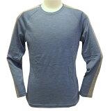 ○WAIPOUA(ワイポウア) I525・メリノウール Men's肩ラインロングTシャツ【SALE】