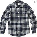 ○ノースフェイス NR61606・L/S セルセンウールシャツ(メンズ)【31%OFF】