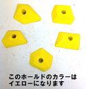 ○○TEKNIK/テクニック・Numericals/ヌーメリカル(イエロー/E-31)【5個売り】【クライミングホールド(E)】