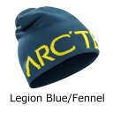 ◎アークテリクス 15223・Word Head Long Toque/ワードヘッドロングトーク(Legion Blue/Fennel)L06771400