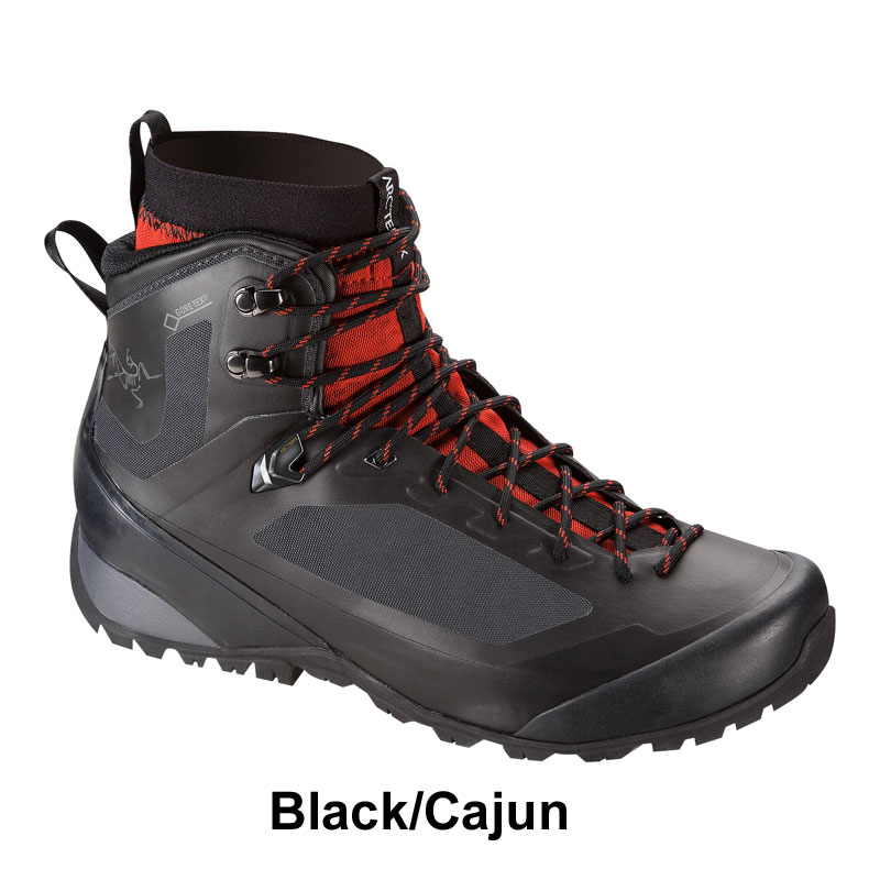 ◎アークテリクス 16694・Bora2 Mid GTX Men's/ボラ2 MID GTX Men's( Black/Cajun)<BIRD AID対象商品> L06314000