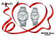 国内正規品アニエスベー【agnes b.】【SAM】腕時計 電池式 クオーツ ペアウォッチ カップル【2本の価格です】【FCRT982&FCST994】