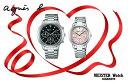 国内正規品アニエスベー【agnes b.】【SAM】腕時計 電池式 クオーツ ペアウォッチ カップル【2本の価格です】【FCRT989&FCST997】