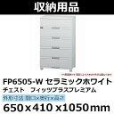 TENMAフィッツプラスプレミアム 650×410×1050 セラミックホワイト FP6505-W