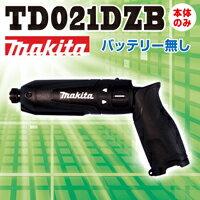 �ں߸ˤ��ꡢ¨��ȯ���ġۥޥ���(makita)TD021DZB7.2V���ż��ڥ�ѥ��ȥɥ饤�����ΤΤߥ��顼����(�֥�å�)