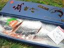 天然紅(ベニ)鮭「姿造り」