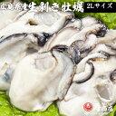 2Lサイズ 生むき牡蠣 メガ盛り2kg 解凍後1700g 広島県産牡蠣 カキ かき 冷凍 むき身