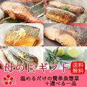 【遅れてゴメンね】本格魚惣菜 母の日ギフト特別詰合せ【煮魚6パック・西京焼き4パック&選べる一品】母