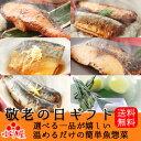 本格魚惣菜≪Aコース≫敬老の日ギフト特別詰合せ【煮魚6パック・西京焼き4パック】選べ