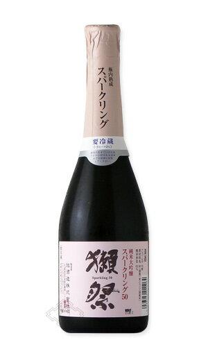 獺祭 スパークリング50 360ml 【日本酒/旭酒造/だっさい】【要冷蔵】お一人様12本まで。