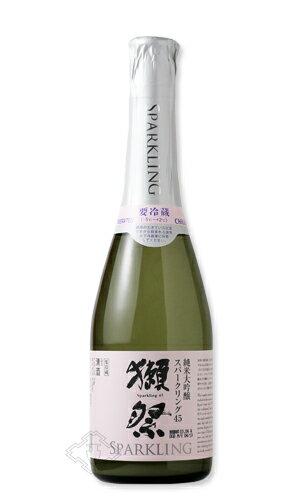 獺祭 スパークリング45 360ml 【日本酒/旭酒造/だっさい】【要冷蔵/クール便】