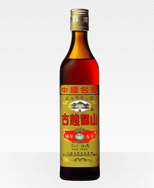 古越龍山 紹興酒 花彫 陳年5年 500ml (中国酒)